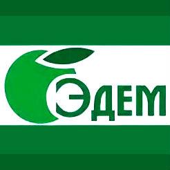 Логотип фабрики «Центр мебели Эдем»