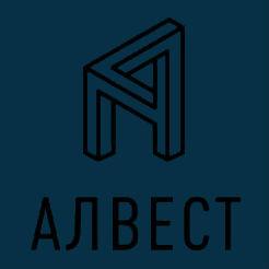 Логотип компании «Алвест»