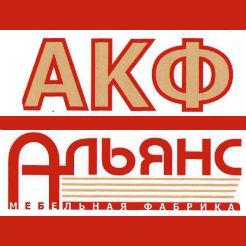 Логотип фабрики «Альянс-АКФ»