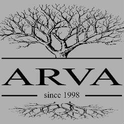 Логотип фабрики «ARVA»
