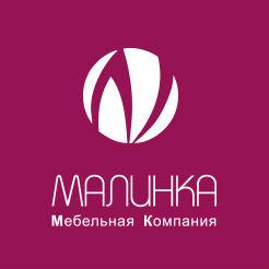 Логотип фабрики Малинка, город Саранск