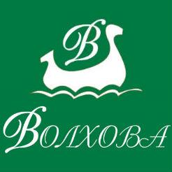 Логотип фабрики «Волхова»
