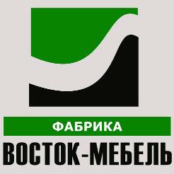 Логотип фабрики «ВОСТОК-МЕБЕЛЬ»