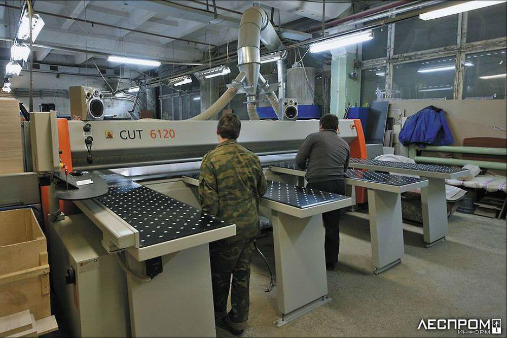 Фото фабрики «Русьмебель»