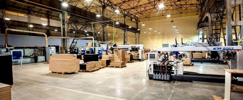 Фото фабрики «Стендмебель»
