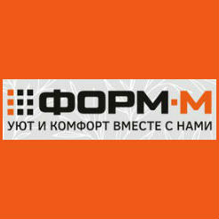 Логотип фабрики «Форм-М»