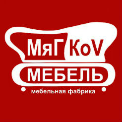 Логотип фабрики «Мягков»
