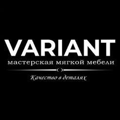 Логотип фабрики «Вариант»