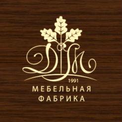 Логотип фабрики «ДМ»