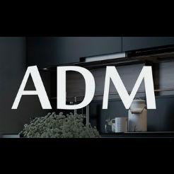 Логотип фабрики «АДМ»