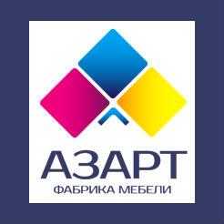 Логотип фабрики Азарт