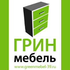 Логотип фабрики «Грин Мебель»