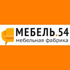 Логотип фабрики «Мебель 54»
