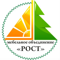 Логотип фабрики «Рост»