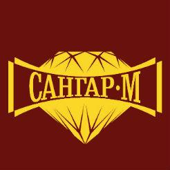 Логотип фабрики «Сангар-М»