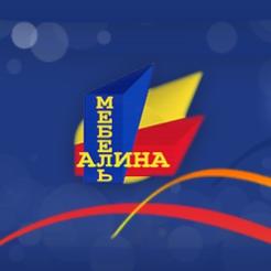 Логотип фабрики «Алина Мебель»
