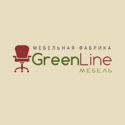 Логотип фабрики «Грин Лайн Мебель»
