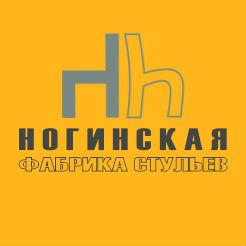 Логотип Ногинской фабрики стульев
