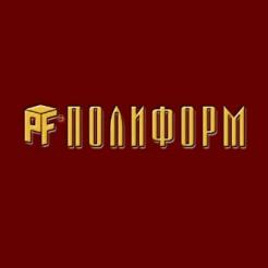 Логотип фабрики «Полиформ»