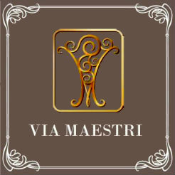 Логотип фабрики Via Maestri