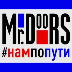 Логотип фабрики «Mr.Doors»
