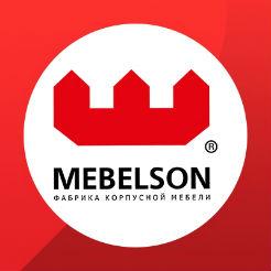 Логотип фабрики «Mebelson»