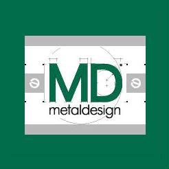 Логотип компании «Металлдизайн»