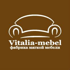 Логотип фабрики «Виталия-мебель»