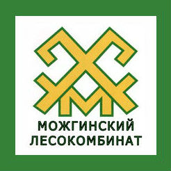 Логотип Можгинского лесокомбината