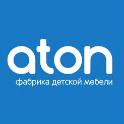 Логотип фабрики «Атон»