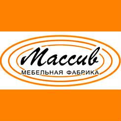 Логотип фабрики «Массив»