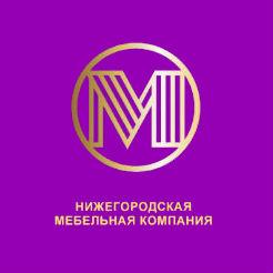 Логотип Нижегородской мебельной компании