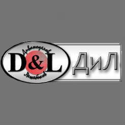 Логотип фабрики «ДиЛ»