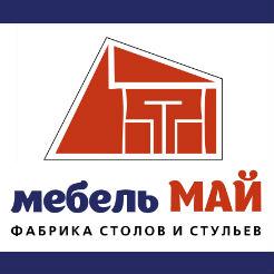 Логотип фабрики «Мебель Май»