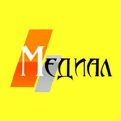 Логотип фабрики Медиал