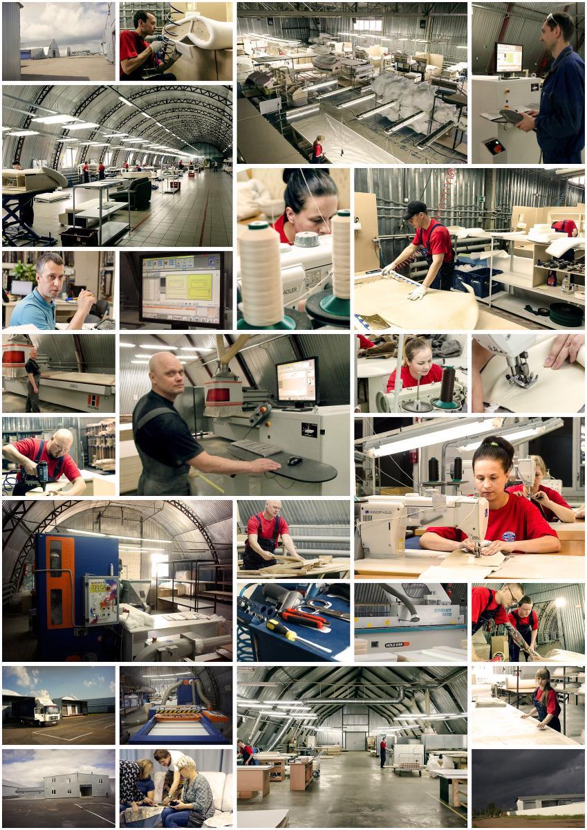 Фото фабрики ХитМебель