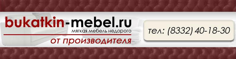 Баннер фабрики «Букаткин-мебель»