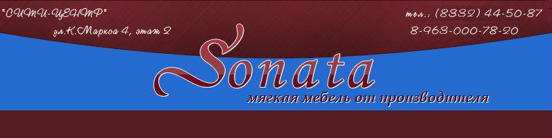 Баннер фабрики Sonata