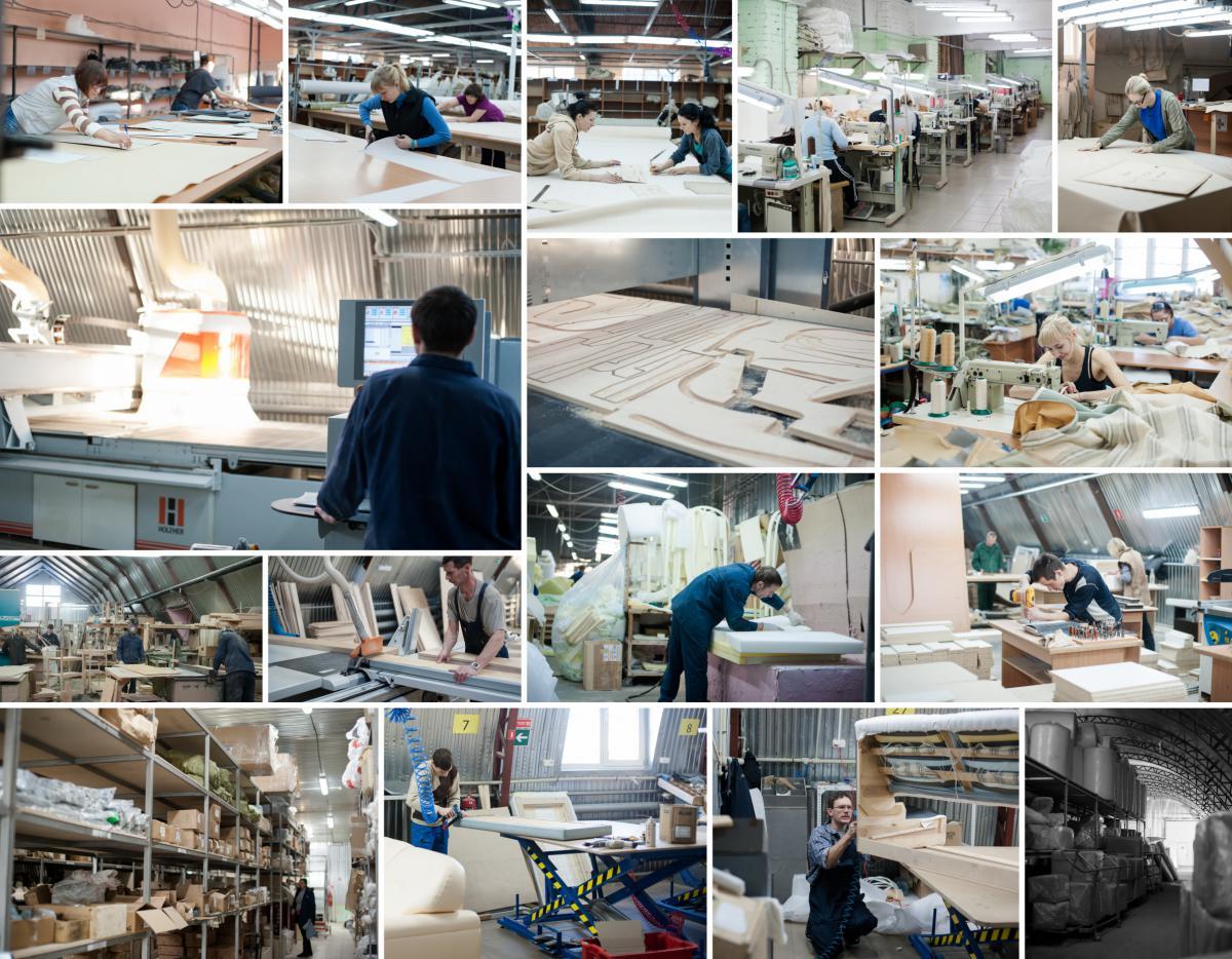 Фото фабрики «Мебель братьев Баженовых»