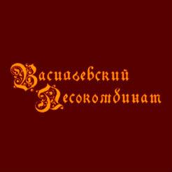 Логотип Васильевского лесокомбината