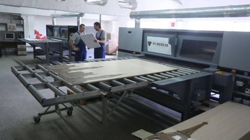 Фото фабрики SV-мебель