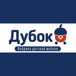 Логотип фабрики «Дубок»
