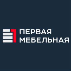 Логотип Первой мебельной фабрики