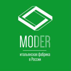 Логотип фабрики «Moder»