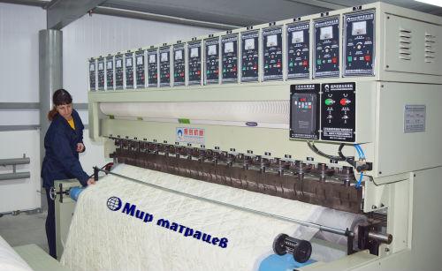 Фото фабрики «Мир матрацев»