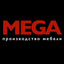 Логотип компании «МЕГА-мебель»