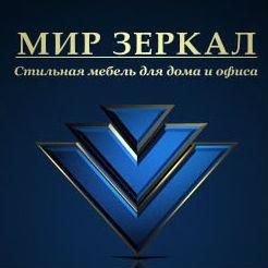 Логотип фабрики «Мир зеркал»