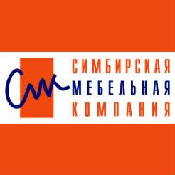Логотип «Симбирской мебельной компании»