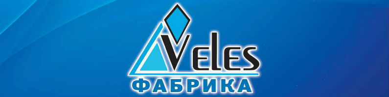 Баннер фабрики матрасов «Veles»