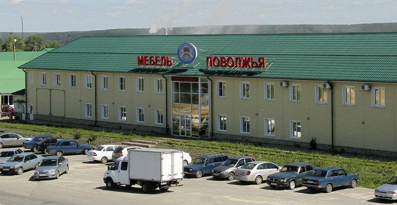 Фото фабрики Мебель Поволжья